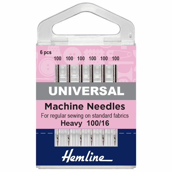 Machine Needles - 100/16 Heavy