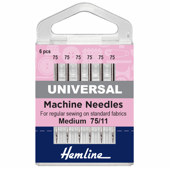 Machine Needles - 75/11 Fine