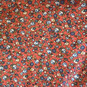 100% Cotton Fat Quarter - Dolly Floral Coral