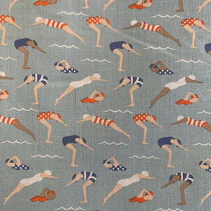 Polycotton Print - Swimmers - Sold by Half Metre