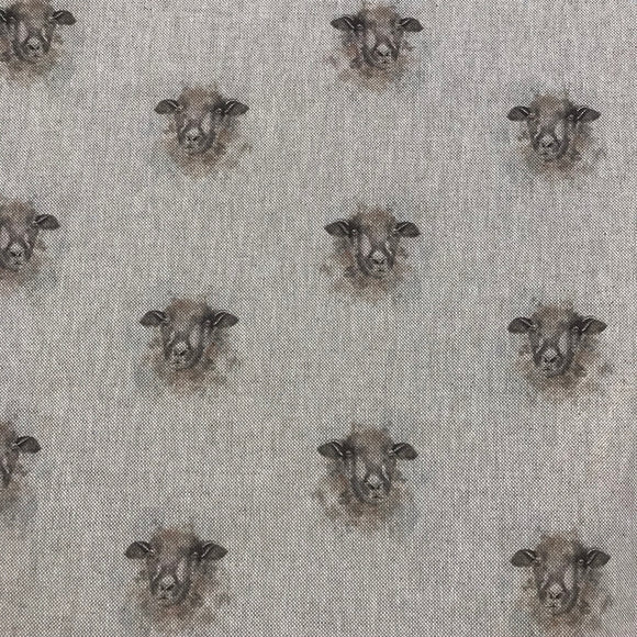 Linen look - Ewe - Sold By Half Metre
