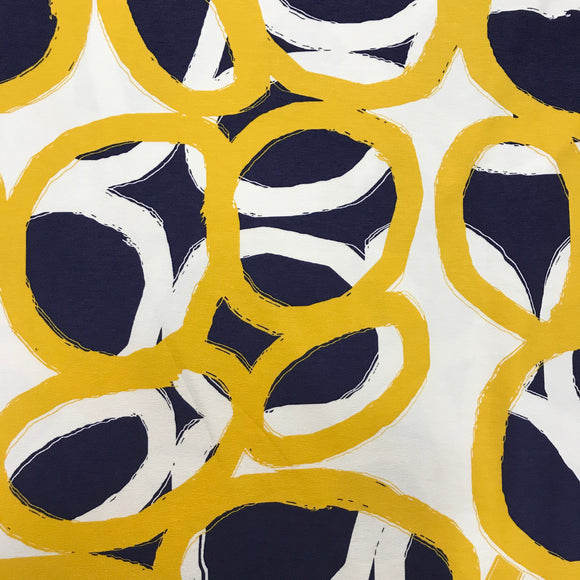 Viscose Jersey - Abstract - Sold by Half Metre