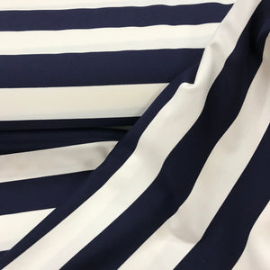 Ponte Roma Jersey - Stripe - Sold By Half Metre