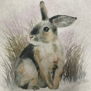 Linen look Panels - Rabbit