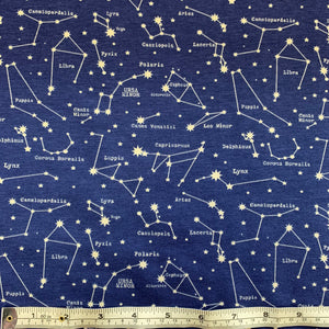 Cotton Jersey - Cassiopee - Sold By Half Metre