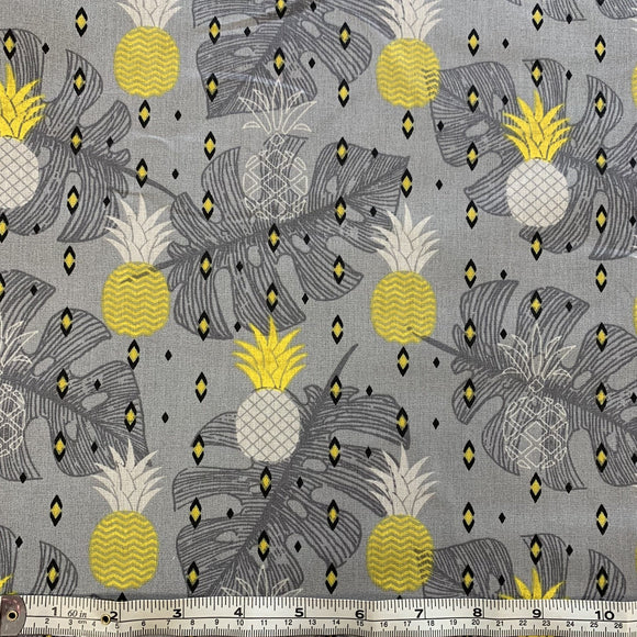 Remnant 1012 1.5m 100% Cotton Pineapple Leaves 160cm Wide