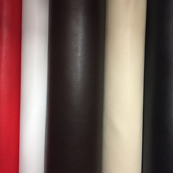 Leatherlook Soft PVC - Select Colour - Sold by Half Metre
