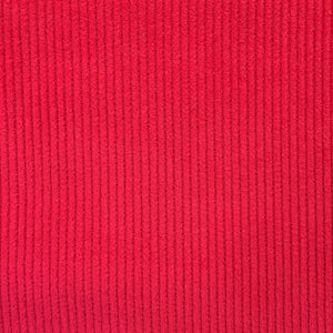 Fine Corduroy - Red - Sold by Half Metre