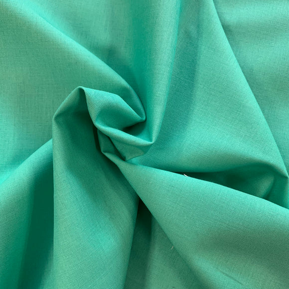 100% Cotton - Craft Cotton - Light Jade - Sold by Half Metre