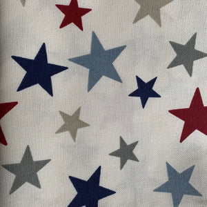Remnant 250952 0.85m Heavyweight Cotton Drill Stars 140cm Wide