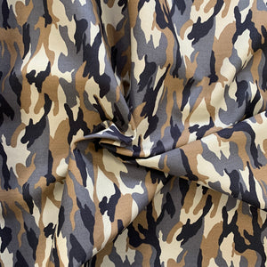SALE 100% Cotton Poplin - Camouflage - Forest - Sold by Half Metre