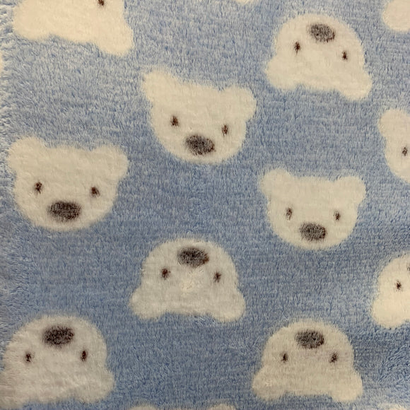 Super Soft Fleece - Bears - Sold By Half Metre