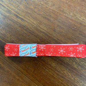Christmas Ribbon Bundles Gros Grain - Snowflakes