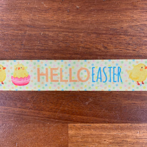 Easter Ribbon - Hello Easter 25mm