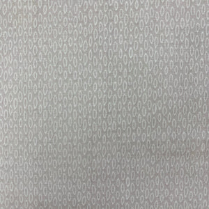 SALE 100% Cotton  - Oval Grey - Sold by Half Metre