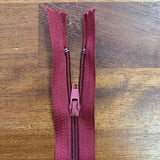 "12"" / 30cm Nylon Zip  - Select Colour New"