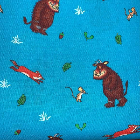100% Cotton - Gruffalo - Fox and Mouse - Sold By Half Metre