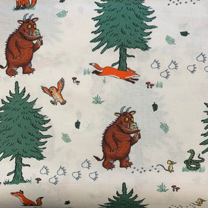 100% Cotton - Gruffalo - Walk In The Woods - Sold By Half Metre