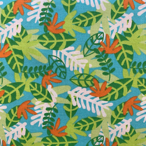100% Cotton - Hide and Seek Leaves - Sold by Half Metre