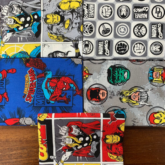 100% Cotton Fat Quarters - Marvel Comics