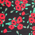 100% Cotton Poplin - Poppies