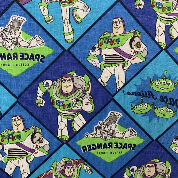 100% Cotton - Toy Story -  Buzz Lightyear - Sold by Half Metre