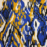 Printed Viscose - Blue Splash