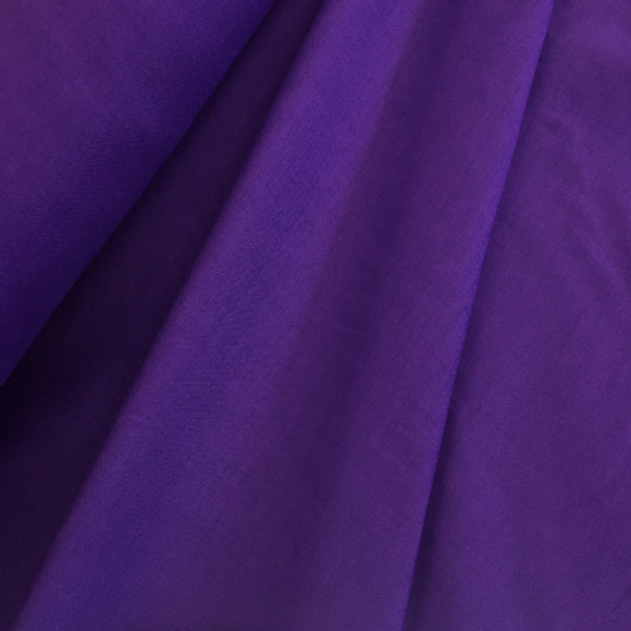 Remnant 30819 0.4m 100% Cotton Purple 150cm Wide