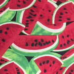 100% Cotton Poplin - Watermelon - Red