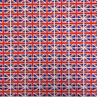 100% Cotton Poplin - Union Jack