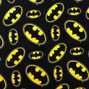 100% Cotton - Batman Logo