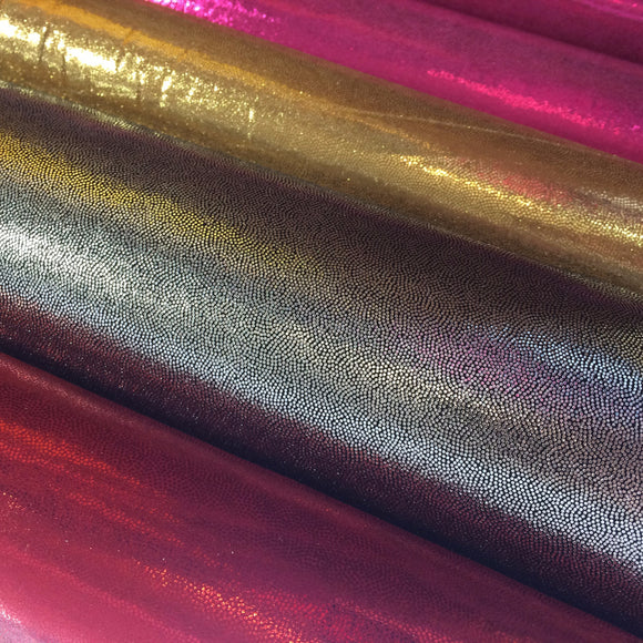 Foil Lycra - Select Colour - Sold By Half Metre