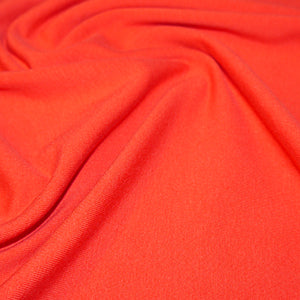 Cotton Jersey - Red - Sold By Half Meter