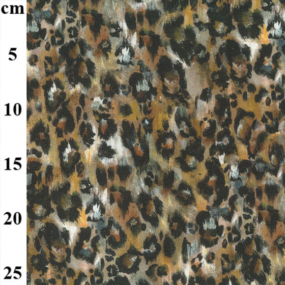 Digital Jersey - Animal Print - Sold By Half Metre