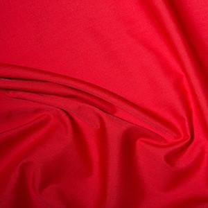 Polycotton Sheeting - Red - Sold by Half Metre