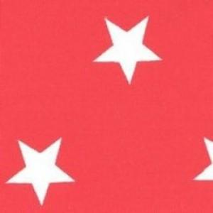 100% Cotton Fat Quarter - Red Star