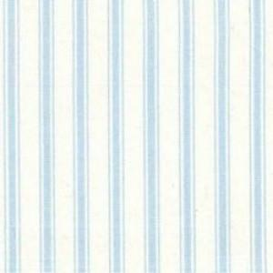 100% Cotton - Blue Narrow Stripe - Sold by Half Metre