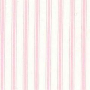 100% Cotton - Narrow Pink Stripe - Sold by Half Metre