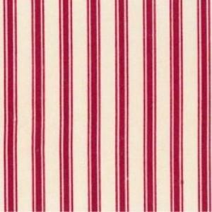 100% Cotton Fat Quarter - Wine Narrow Stripe