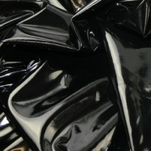 High Gloss PVC - Black