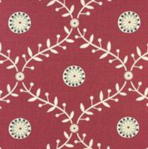 Blungtington Raspberry - Curtain Fabric