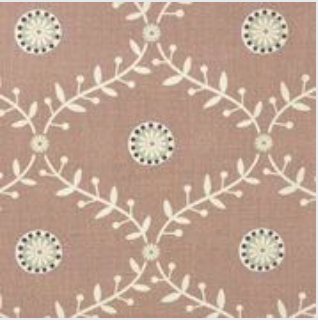 Blungtington Blush - Curtain Fabric