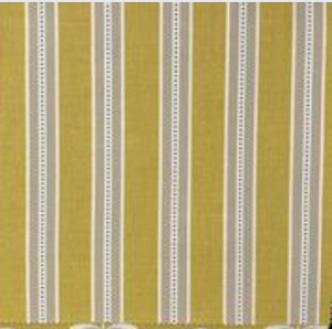 Drayton Ochre - Curtain Fabric