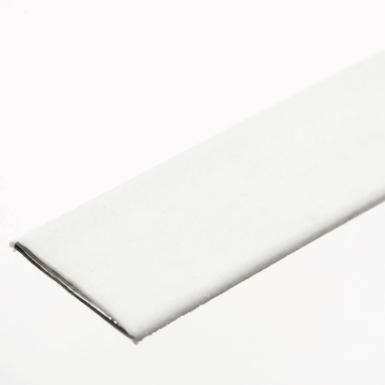 Steel Boning 10mm: Plastic Coated - White