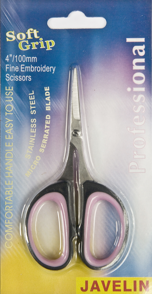 4'' Fine `Point Embroidery Scissors