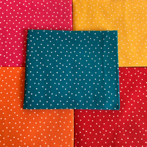100% Cotton Fat Quarters - Bright Spots