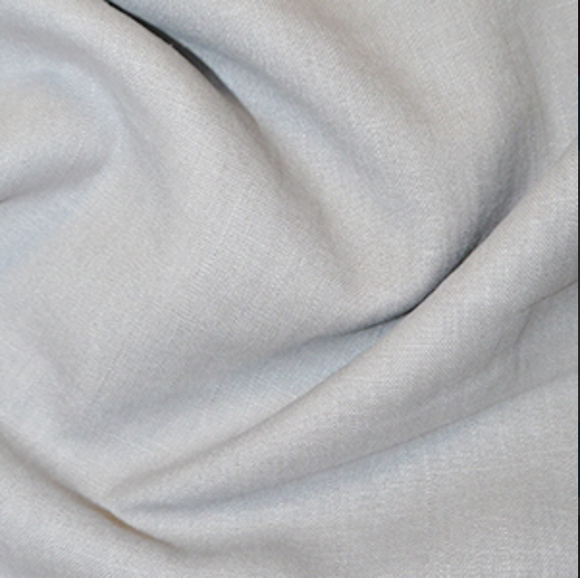 100% Linen - Silver - Sold by Half Metre