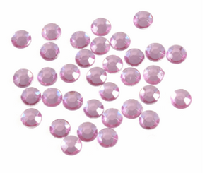 Acrylic Jewels - Pink 5mm