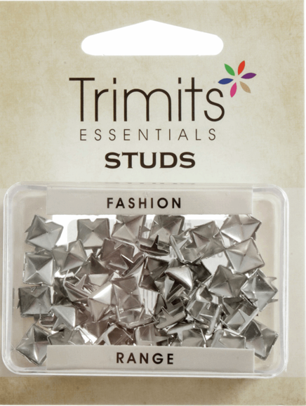 Studs: Claw - Silver - 9mm Wide