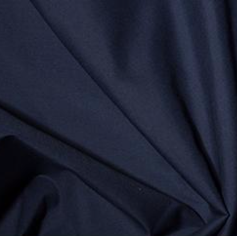 Remnant 8500 1.85m Polycotton Navy 112m Wide